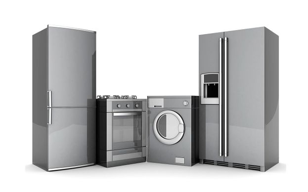 Repaired household appliances